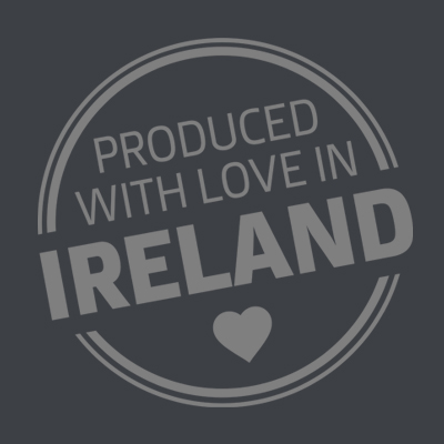 Produced with love in Ireland
