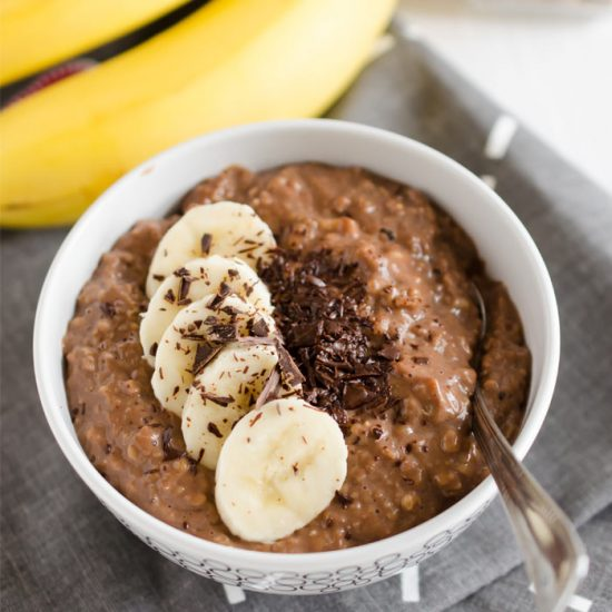 Chocolate Chia Porridge