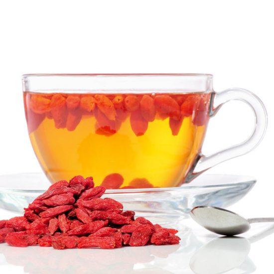 Goji Lemon Morning Tea