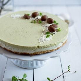 Dairy Free Matcha Cheesecake