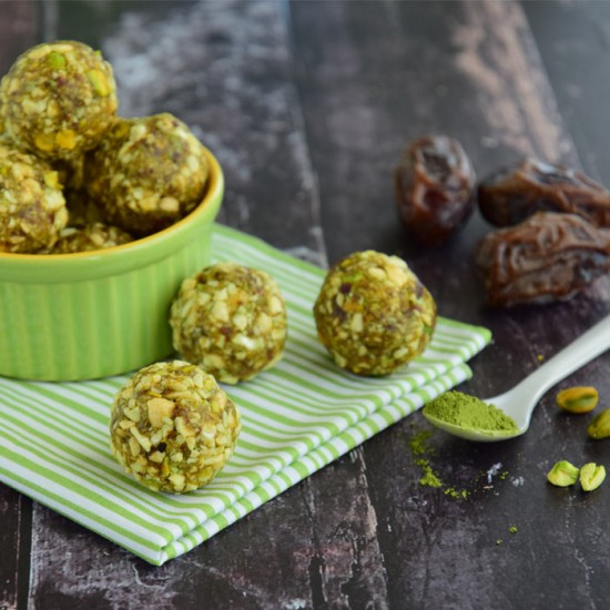 Matcha Supergreen Bliss Balls