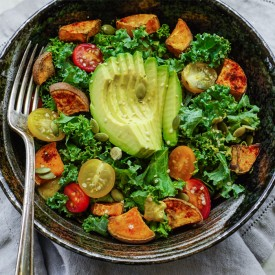 Sweet Potato & Kale Salad