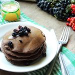 Vegan Chocolate Pancakes